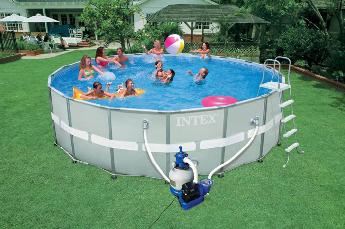 инструкция по установке каркасного бассейна Intex - фото 10