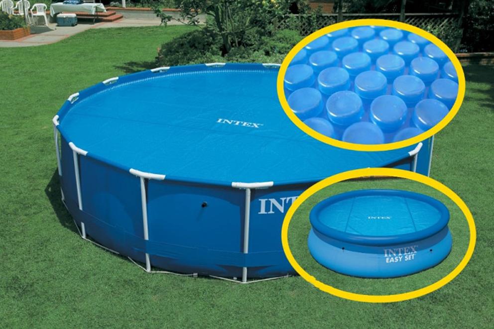Крышка для каркасного бассейна