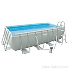 Каркасный бассейн Intex Rectangular Ultra Frame Pool 28350 -- ЕСТЬ В НАЛИЧИИ