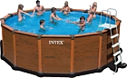 28382 Бассейн каркасный INTEX Sequoia Spirit Wood Frame Pool --- НА ЗАКАЗ