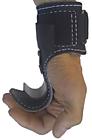 Тяги с крюками для подвеса на турнике и для тяги Jet Sport, натуральная кожа